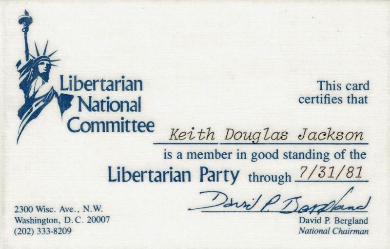19810731, Libertarian Party
