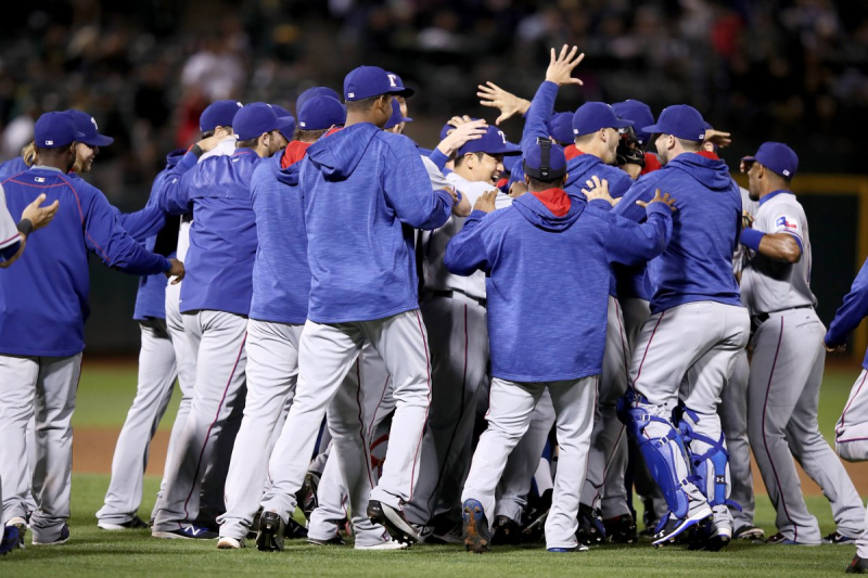 20160923, Texas Rangers Are A.L. West Champions