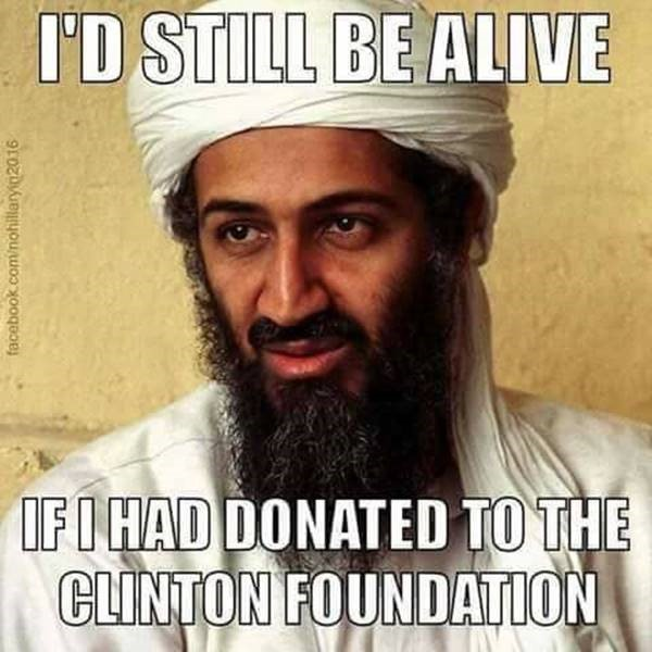 The Clinton Crime Family Foundation
