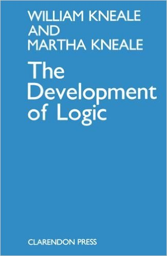 Kneale and Kneale, The Development of Logic (1962)