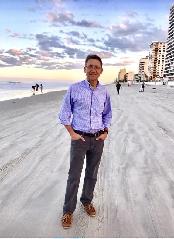 20170225, Keith on Ormond Beach, Florida