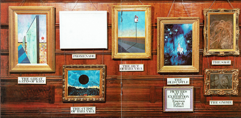 Emerson Lake & Palmer  Pictures at an Exhibition (1971  2016) 2