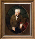 Immanuel Kant (1724-1804) 16 (Painting by Gottlieb Doppler in 1791  When Kant Was 67)