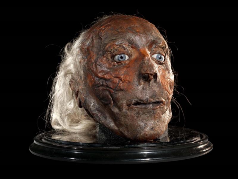 Jeremy Bentham  Shrunken Head