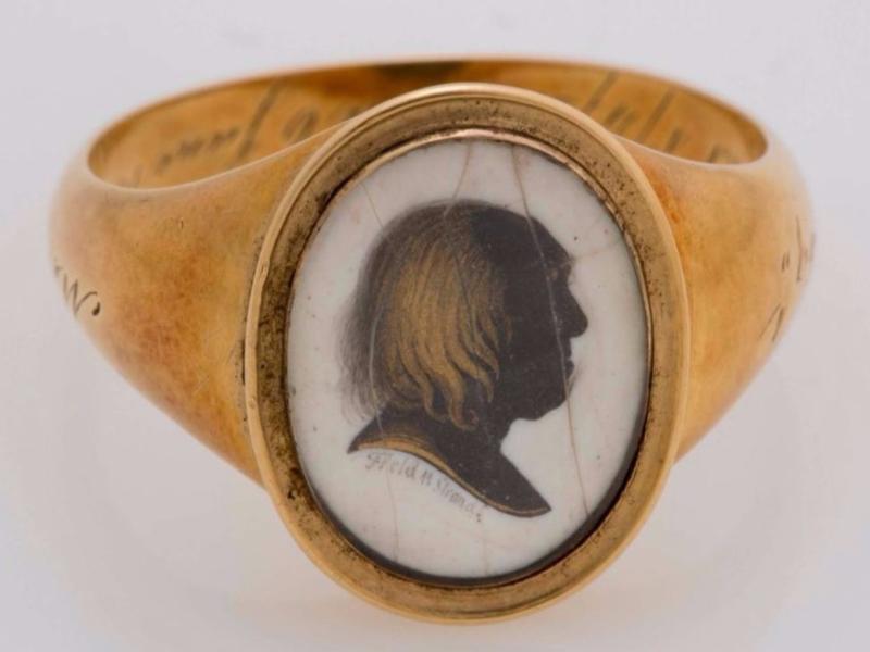 Jeremy Bentham  Memento Ring
